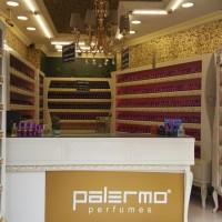 Palermo parfüm fabrika satış mağazası içten görünüm